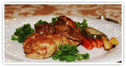 chicken marsala at sugar house weddings and events