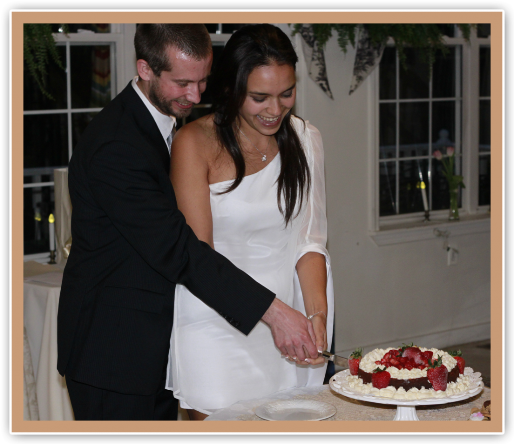 Wedding Ceremony for Dennis and Maria Guignet at Elk Forge Events