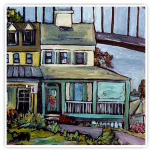 bayard house in chesapeake city carol mangano 300x300 2nd Annual Chesapeake City Paint Out   September 14 16, 2012