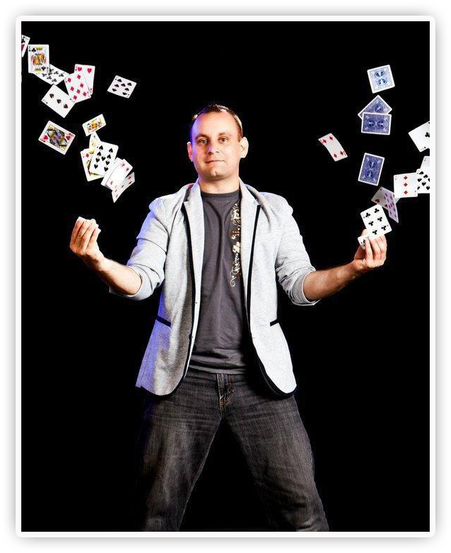 wayne 3 Magic Show: Wayne Gonce Trickster Tour   August 31, 2012